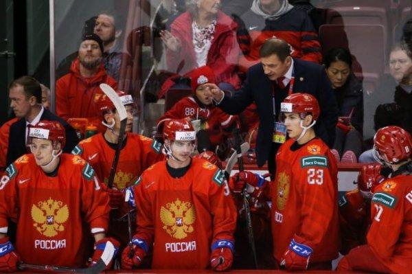 Полуфинал МЧМ по хоккею Россия - Швеция покажет