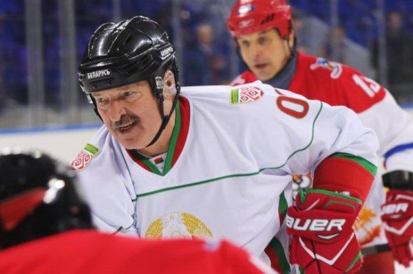Команда президента Беларуси победила хоккеистов США