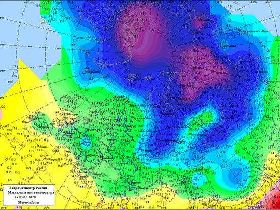 Гидрометцентр предупредил россиян о погодных аномалиях в январе