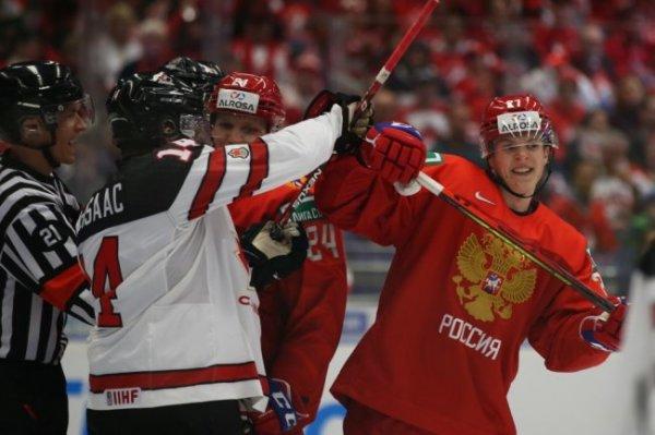 Первый канал покажет финал молодежного чемпионата мира Канада - Россия