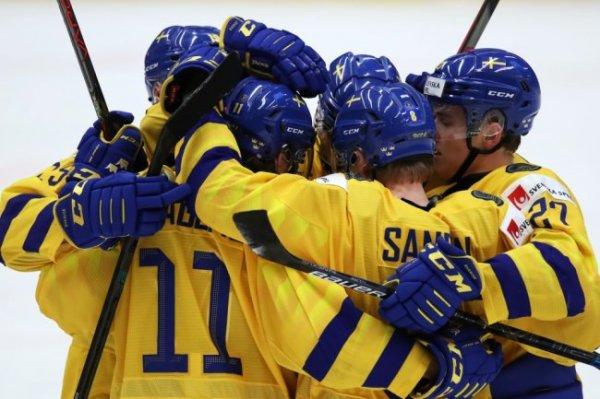Сборная Швеции выиграла бронзу молодежного чемпионата мира по хоккею