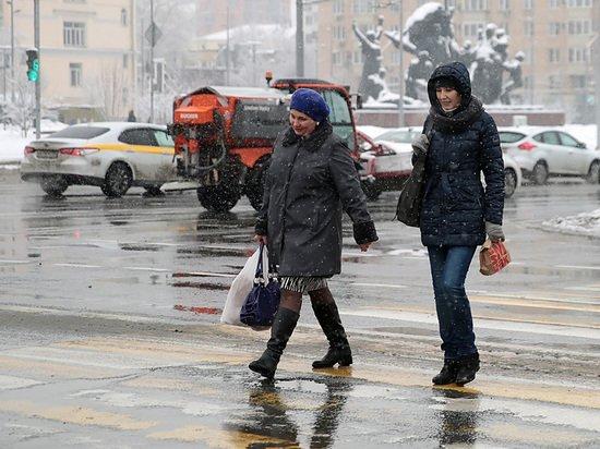 Эксперт объяснил отсутствие снега в Москве «атмосферной рекой»