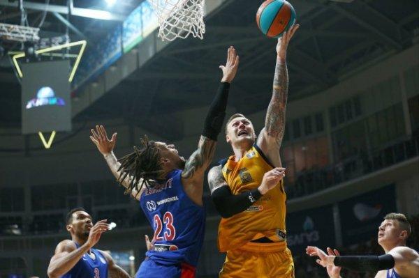 Сразу три баскетбольных клуба из России сыграют 10 января в чемпионате Евролиги