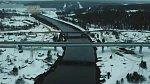 В Мурманской области на трассе Р-21 «Кола» построен новый мост через канал Княжегубской ГЭС