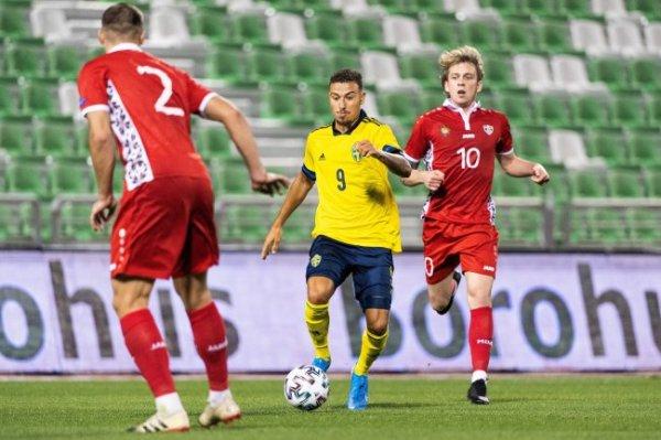 Джордан Ларссон впервые забил за сборную Швеции