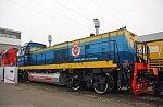 На Людиновском тепловозостроительном заводе приступили к испытаниям газотепловоза ТЭМГ1