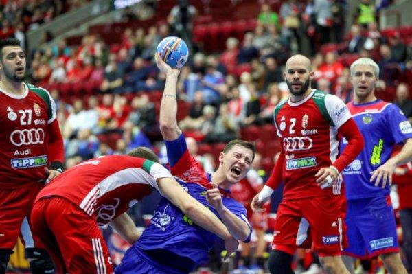 Российские гандболисты начали ЧЕ-2020 с поражения от Венгрии