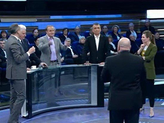 Экс-депутат Рады устроил скандал в телеэфире из-за предложения