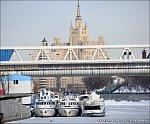 В Москве завершен ремонт пяти причалов