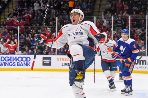 Овечкин вошел в топ-10 снайперов регулярных чемпионатов НХЛ