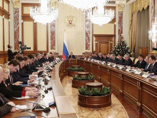 Работе правительства Медведева поставили оценку: чуть выше нуля