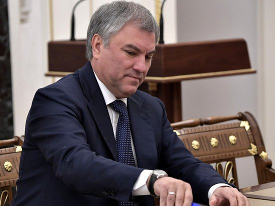 Володин предложил изучить причины убыли населения в ряде регионов страны