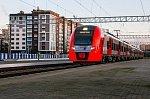 Новый электропоезд «Ласточка» запустили между Калининградом и Светлогорском