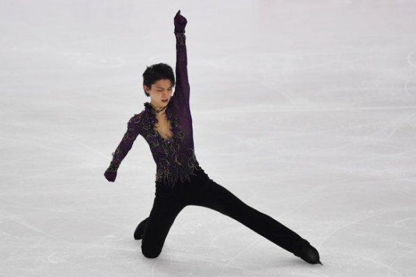 Фигурист Ханю обновил рекорд в короткой программе