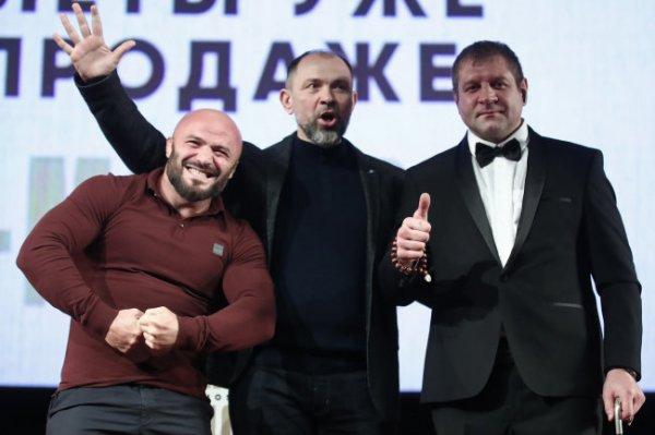 Емельяненко и Исмаилов устроили словесную перепалку