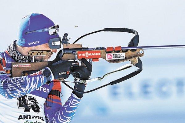 Александр Логинов победил в спринте на чемпионате мира по биатлону