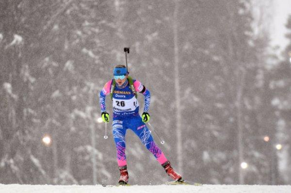 Российская биатлонистка Павлова выиграла суперспринт на ЧЕ