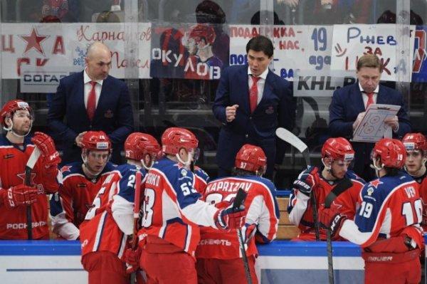 В КХЛ определены все пары плей-офф Кубка Гагарина