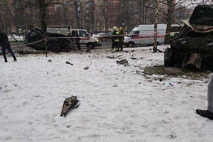 В Петербурге загорелось здание «Лениздата»