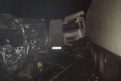 В аварии под Псковом погибли восемь украинцев