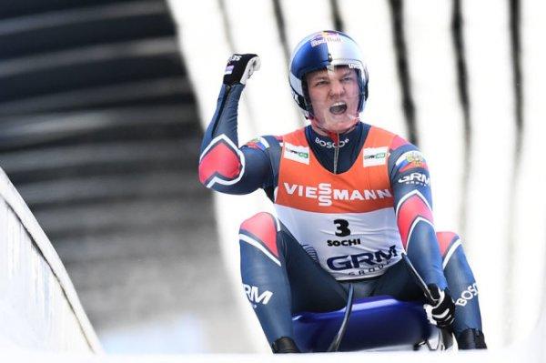 Россиянин Репилов во второй раз завоевал Кубок мира по санному спорту
