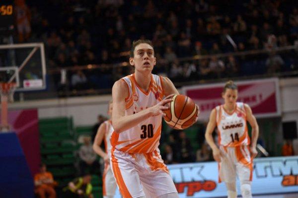 Баскетболистка Брианна Стюарт провела первый матч за екатеринбургский УГМК