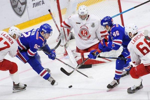 Хоккеисты КХЛ сыграли первые матчи плей-офф Кубка Гагарина
