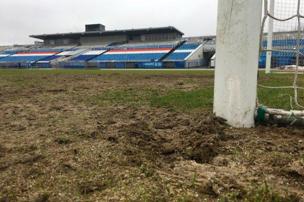 Мэрия Ярославля прокомментировала состояние газона на стадионе