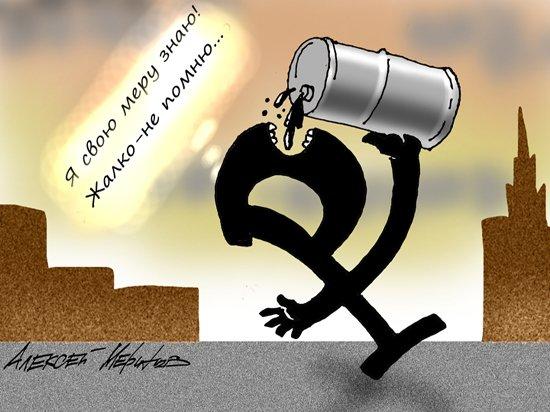 Падение рубля и нефти: Минфин успокоил россиян