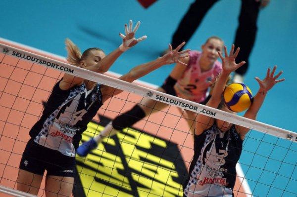 Чемпионат России по волейболу приостановили на неопределенный срок