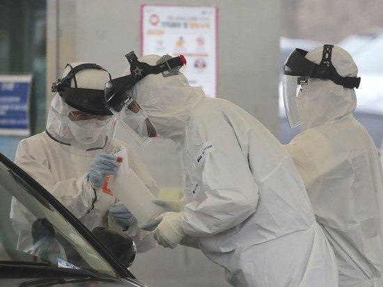 Число заболевших COVID-19 в Южной Корее достигло 9,1 тысячи человек