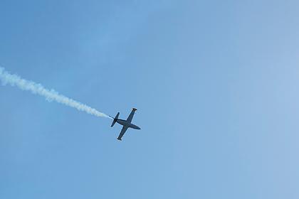 Военный учебно-тренировочный самолет разбился на юге России