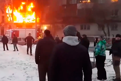 Названа возможная причина взрыва и пожара в жилом доме в Магнитогорске