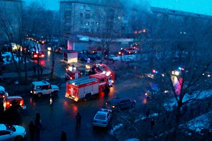 Пожар в жилом доме в Магнитогорске потушили