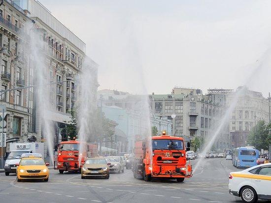 В Москве проведут масштабную дезинфекцию общественных мест