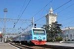 В Крым прибыл первый пригородный дизель-электропоезд