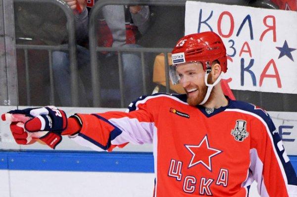 Хоккеист ЦСКА Григоренко подписал контракт с