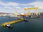 Батопорт для самого большого сухого дока России прибыл в Большой Камень