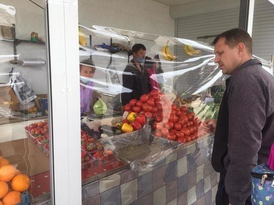 На Донбассе открылись рынки