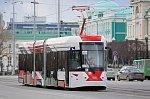 Современный трамвай вышел на линии Екатеринбурга