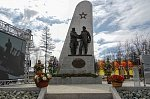 В Магадане открыт памятник советским военным летчикам Ленд-лиза
