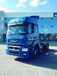 КАМАЗ выпустил первые грузовики на СПГ с двумя криобаками