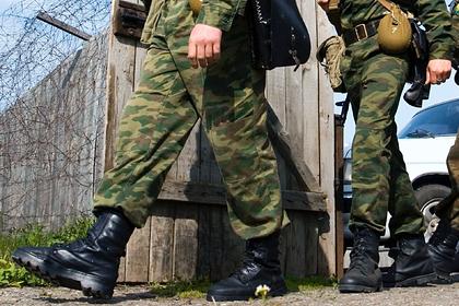 Российский солдат-контрактник покончил с собой во время отпуска