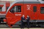 Рельсовый автобус Орлан отправился в первую поездку