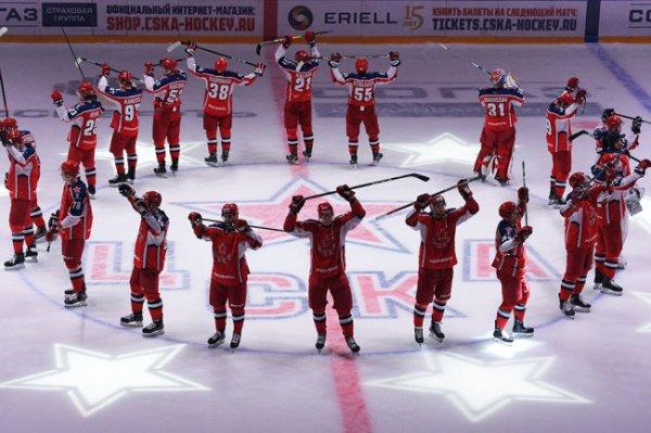 ЦСКА признан лучшей хоккейной командой Европы