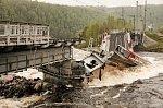 В Мурманской области наладили альтернативную доставку грузов в обход обрушившегося моста