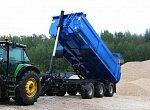 Российские компании выпустили новые модели прицепов для перевозки сельхозгрузов