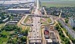 В Подмосковье на трассе М-7 запустили рабочее движение по новой транспортной развязке