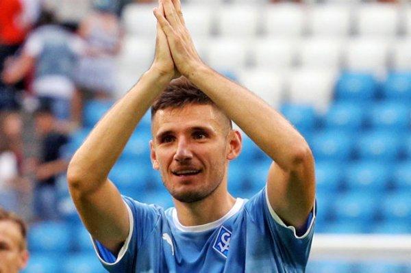 Бурлак забил первый гол после возобновления чемпионата России по футболу