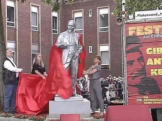 В немецком Гельзенкирхене установили памятник Ленину